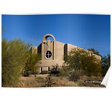 Desert Church Poster