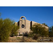 Desert Church Photographic Print