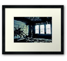 Watching the decay Framed Print