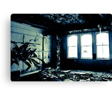 Watching the decay Canvas Print