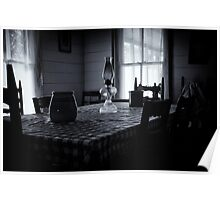 Place setting Poster