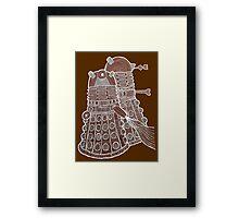 Doodle Daleks Framed Print