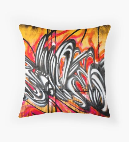 Lillesden Graffiti #2 Throw Pillow