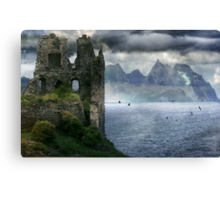 The Changing of his Memory. Canvas Print
