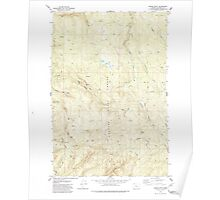 USGS Topo Map Oregon Baker Point 278918 1979 24000 Poster