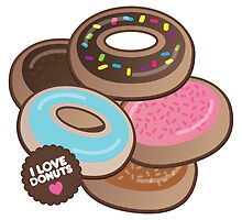 i luv donuts by cuteinstitute
