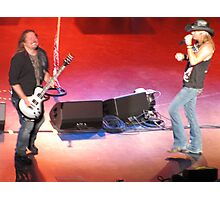 Bret Michaels Casino Cherokee, NC Photographic Print