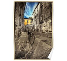 Lucca Tuscany Poster