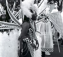 And Then She Laughed....nottinghill carnival by Victoria limerick
