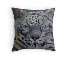 Did you ever see a Snow Leopard BLINK Throw Pillow