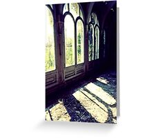 Glass Houses ~ Lillesden School Greeting Card
