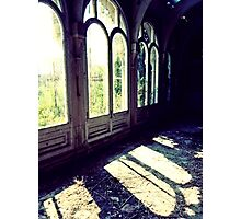 Glass Houses ~ Lillesden School Photographic Print