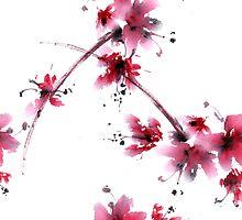 Sakura flower by Tarakanova
