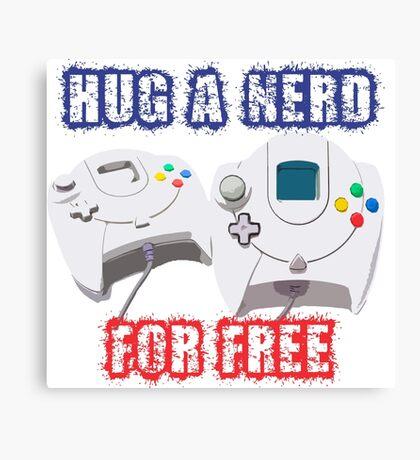 Hug a Nerd  Canvas Print