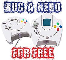 Hug a Nerd  Photographic Print