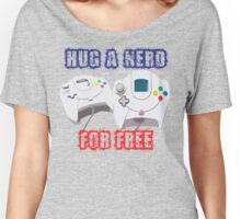 Hug a Nerd  Women's Relaxed Fit T-Shirt