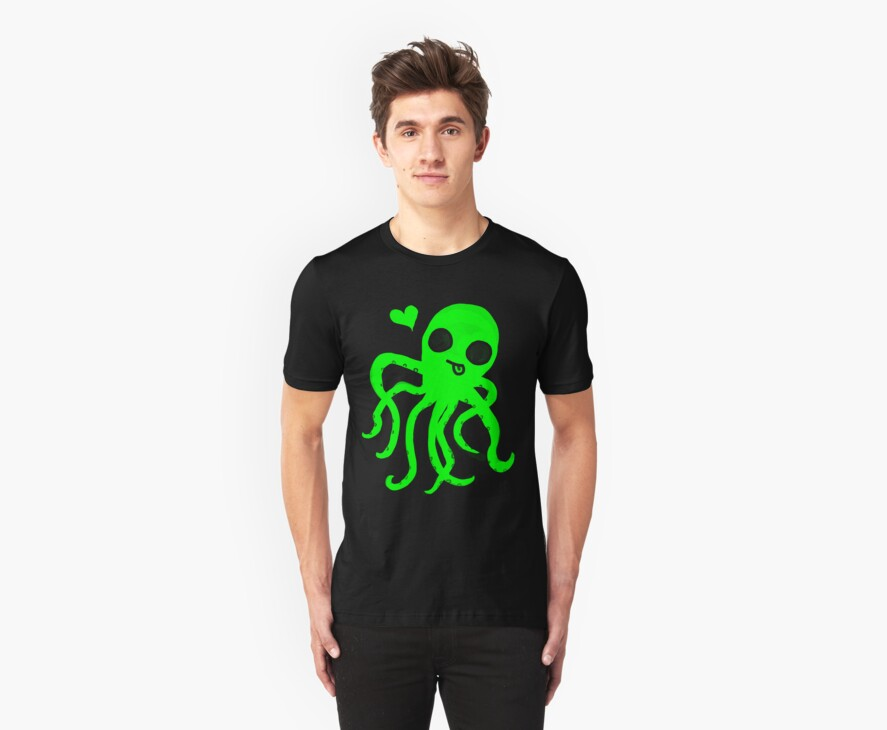Octopus Neon  ♥ by shandab3ar