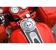 HD Road Glide- Tank and Dash Photographic Print