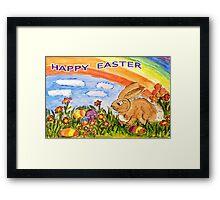Happy Easter Framed Print