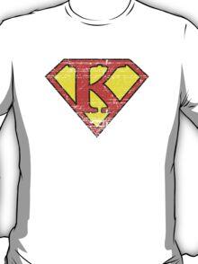 Vintage K Letter T-Shirt