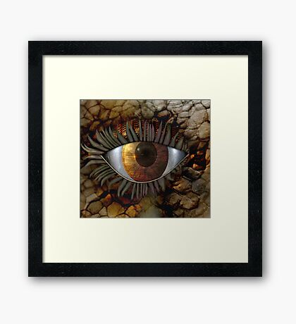 Can You See Me Now? Framed Print