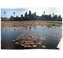 angkor wat, cambodia Poster
