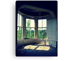 Window III ~ Lillesden School Canvas Print