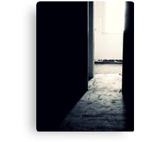The Dark Room ~ Lillesden School Canvas Print