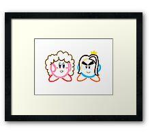 Kirby's Epic Yarn: Game Grumps Framed Print