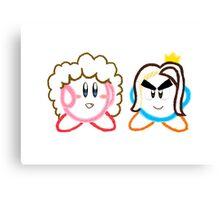 Kirby's Epic Yarn: Game Grumps Canvas Print