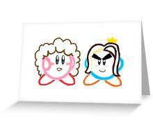 Kirby's Epic Yarn: Game Grumps Greeting Card