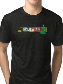 Quick and Simple Christmas Design. Tri-blend T-Shirt
