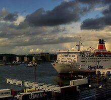The Gothenburg Port by Dmitry Shytsko