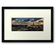 The Gothenburg Port Framed Print