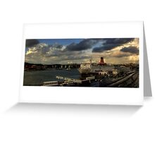 The Gothenburg Port Greeting Card