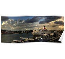 The Gothenburg Port Poster