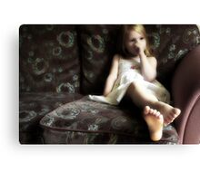Dreaming Of Being A Princess Canvas Print