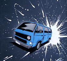 Dub Splat 07 Painting by Richard Yeomans
