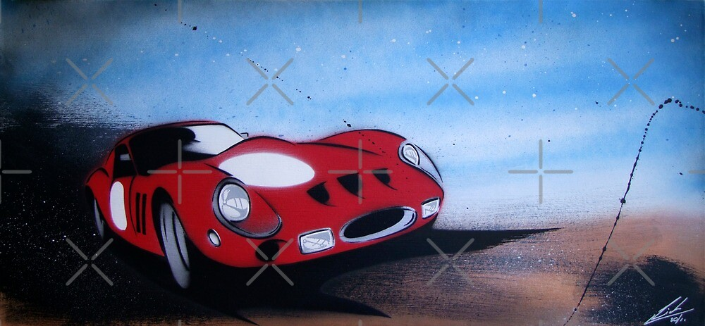 Monaco GTO Painting by Richard Yeomans