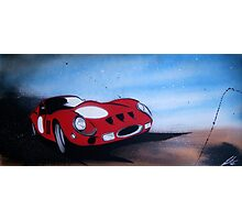 Monaco GTO Painting Photographic Print