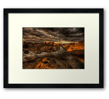 Storm Dells Framed Print
