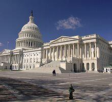 U.S. Capitol by Thad Zajdowicz