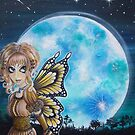 fantasy moon fairy by magicalspirit