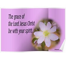 Philippians 4:23 Blessing Poster