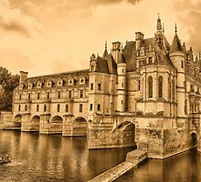 Chenonceau by Nigel Fletcher-Jones