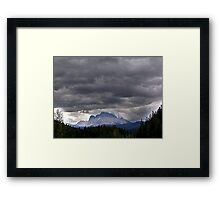 A Crown of Clouds Framed Print