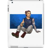 starbucks hipster bucky iPad Case/Skin