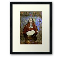 Easter Queen Framed Print
