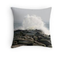 Breakwater - Indian River, DE Throw Pillow