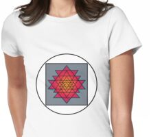 Sri Yantra Womens Fitted T-Shirt